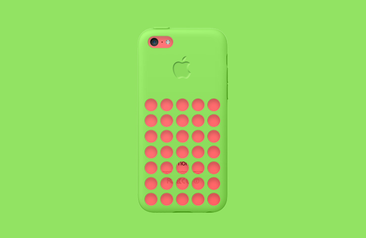iPhone 5C. Digital and social campaign featuring 40 animations made out of the six product color combinations.